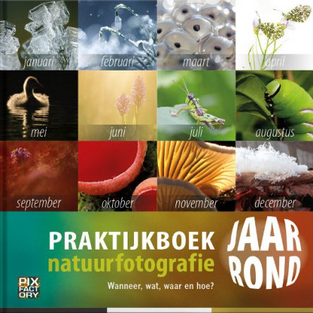 Praktijkboek natuurfotografie jaar rond