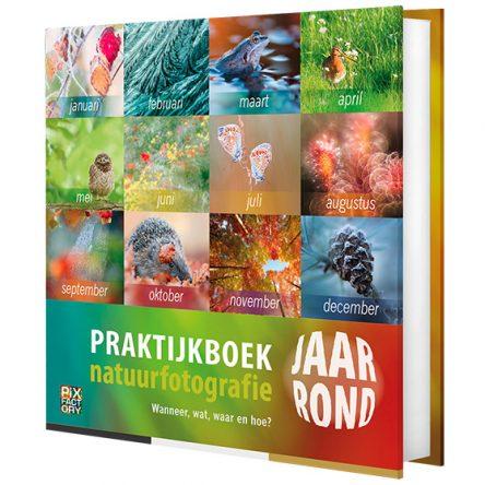 Praktijkboek natuurfotografie jaarrond – in herdruk
