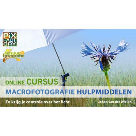 Online cursus macrofotografie hulpmiddelen