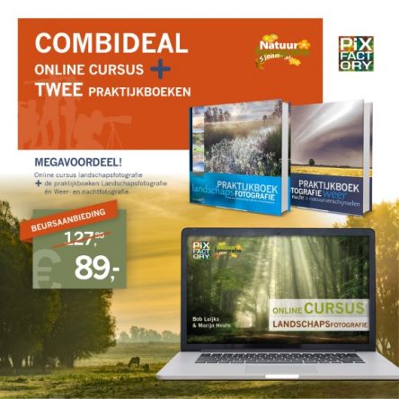 Combideal: Online Cursus- en Praktijkboek Landschapsfotografie en Weer & Nachtfotografie