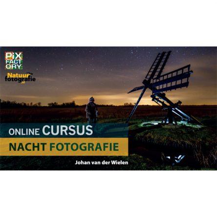 Online cursus nachtfotografie