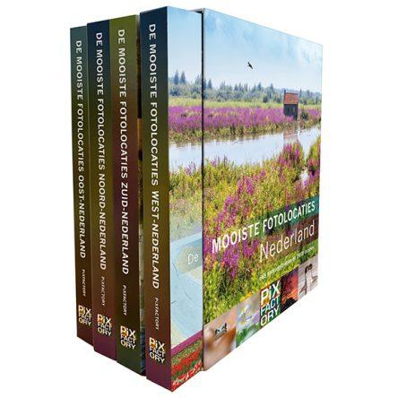 De mooiste fotolocaties van Nederland – Complete serie inclusief luxe cassette
