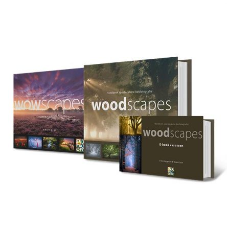 Packagedeal: WOWscapes + Woodscapes + ebook