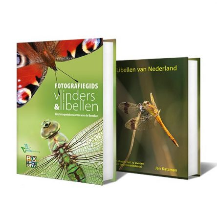 Combideal: Fotografiegids Vlinders en Libellen & Libellen van Nederland