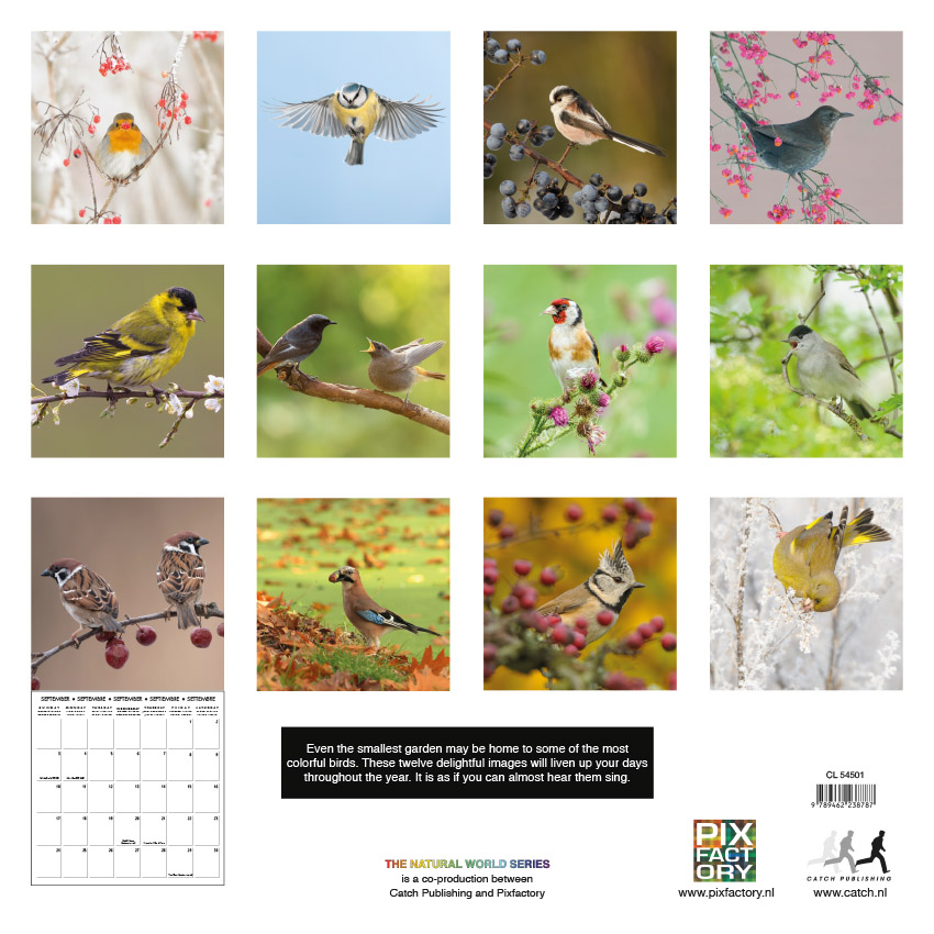 Tuinvogel kalender 2017